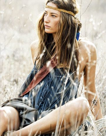 Hippie Look #hippie #boho #bohemian
