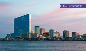 Groupon - 1- or 2-Night Stay for Two with Dining Credit at Harrah's Resort Atlantic City in New Jersey. Check in Sunday–Wednesday. in Atlantic City. Groupon deal price: $44