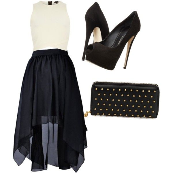 Untitled #75 by feffymoya-1 on Polyvore featuring polyvore fashion style River Island Giuseppe Zanotti Alexander McQueen