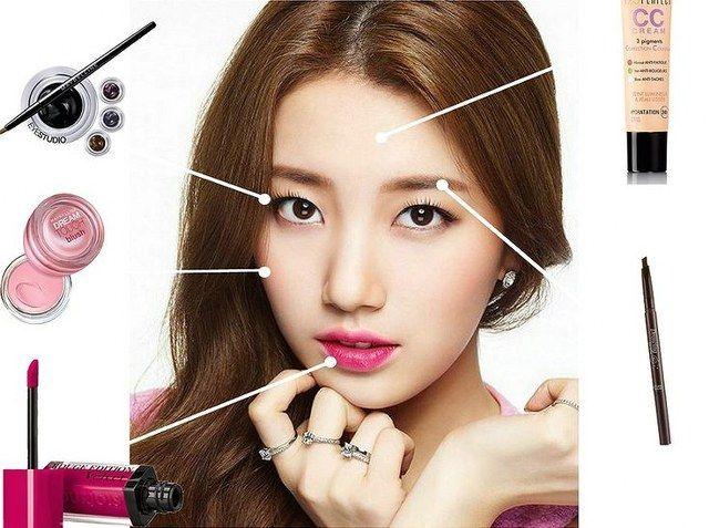 Cara make up natural ala Selebritis Korea ini sangat cocok untuk penampilan sehari-hari, pergi ke kampus, ke kantor atau pun untuk jalan-jalan.