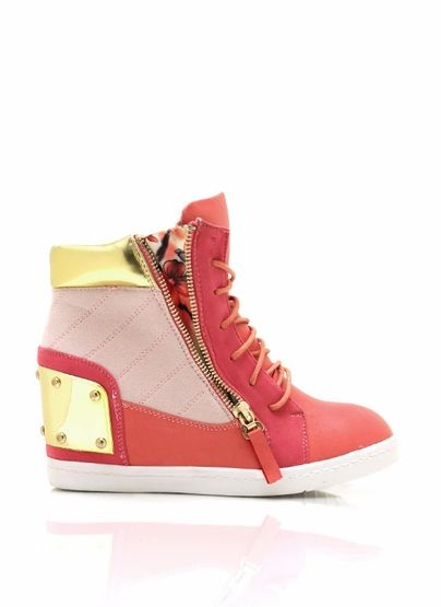 Steel Plate Wedges : Best sneaker wedge outfits images on pinterest