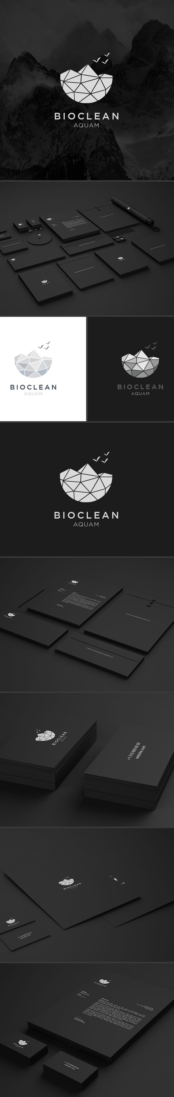 Bioclean on Behance 590 best design references