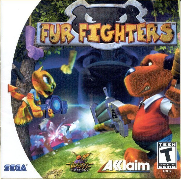 """Today in gaming history,  July 12, 2000 was the release of Fur Fighters on Sega Dreamcast.  THE FLUFF HAS HIT THE FAN! --- FUR FIGHTERS ARRIVES IN STORES  """"Fur Fighters combines all of the action from first person shooters with the puzzle solving elements of a traditional platform game, all with an incredible sense of humor,"""" said Evan Stein, Brand Director for Acclaim Entertainment. """"The result is an ingenious, premier adventure for Sega Dreamcast featuring characters and a story line…"""