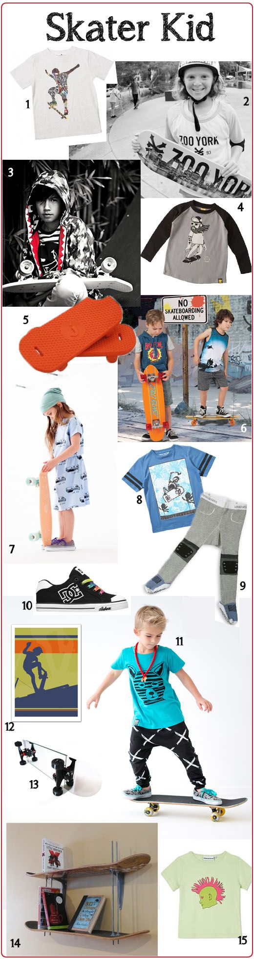 As my daughter's 6th birthday approached she became more and more wishful that she would morph into a Skater Kid on the day. For a few years she has been beggin