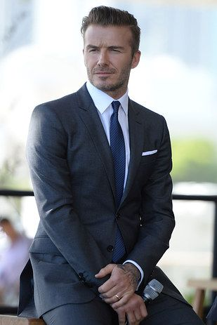 David Beckham. | 17 Celebrity Men Who Should Just Cut The Crap And Become Single