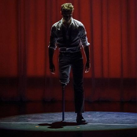 """Don't miss """"The One-Legged Song and Dance Man"""" in NYC on August 14! Osteosarcoma survivor and 2014 SFA Courage Honoree Evan Ruggiero will return to 54 Below for a night of music. Use code EVANSFA and $5 will donated to the Sarcoma Foundation of America:  http://54below.com/artist/evan-ruggiero/."""