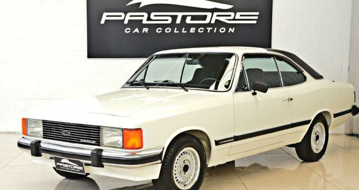 Gm Opala Diplomata 1980 Branco - Pastore Car Collection