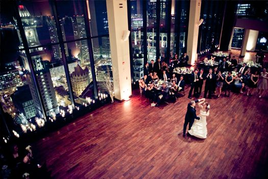 Absolutely LOVE the State Room in Boston because of the breathtaking views of the city. Future wedding venue? Yes, please! <3