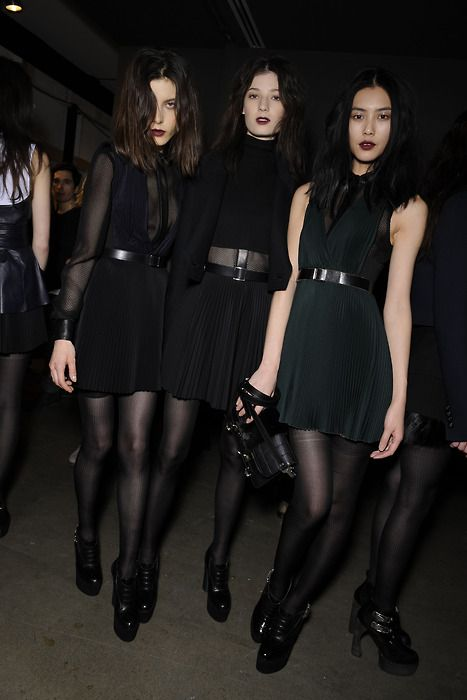 : Black Outfits, Black Dresses, Fall Lipsticks, Black Fashion, Fashion Blog, Dark Lips, Dark Fashion, Fashion Inspiration, All Black Everything