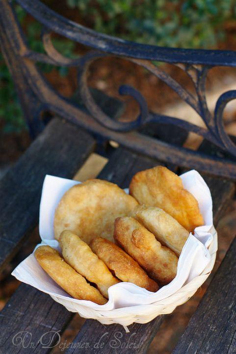 Un dejeuner de soleil: Petites pizza frites comme à Naples