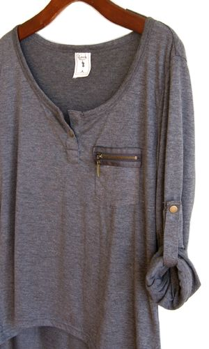 great online shopping site - love this comfy yet chic shirt