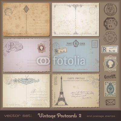 Stamp postales