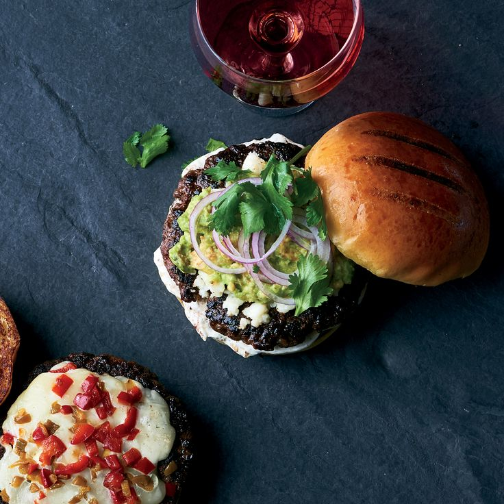 This exceptional burger from NYC star chef April Bloomfield is flavored with chiles and spices and topped with avocado. Get the recipe at Food & Wine.
