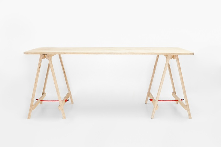 The Tressel Table: Solid Birch Plywood, finished with a water resistant sealant. $360 from Australia.