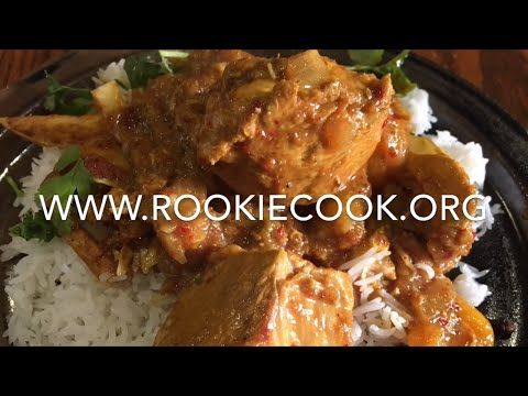 Chicken and Apricot Curry - Rookie Cook