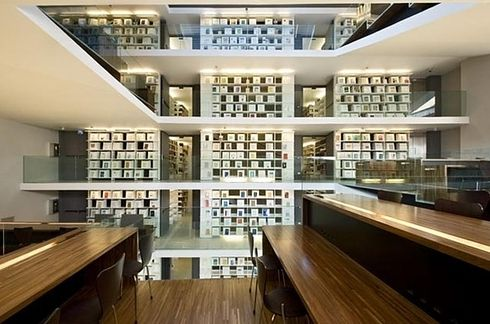 Library at Pontifical Lateran University — Rome, Italy | 49 Breathtaking Libraries From All Over The World