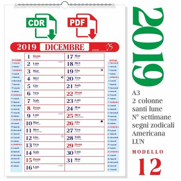 Calendario Dicembre 2020 Con Santi.Pin Di Peppe Cau Su Calendario 2019 Nel 2019 Calendario