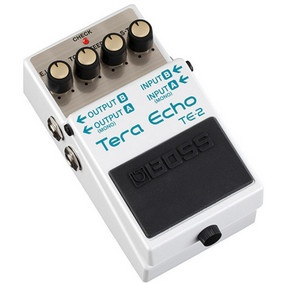 BOSS TE-2 Tera Echo Guitar Effects Pedal #NAMM2013 #rolandconnect