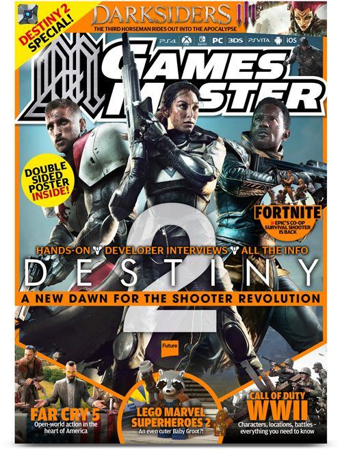 Check out the Latest Issue of Games Master Magazine by subscribing to My Favourite Magazines: