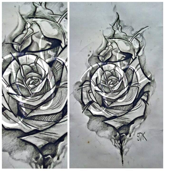#gül #çizim #rose #draw #drawing #drawings #dövme #dizayn #tattoodesign