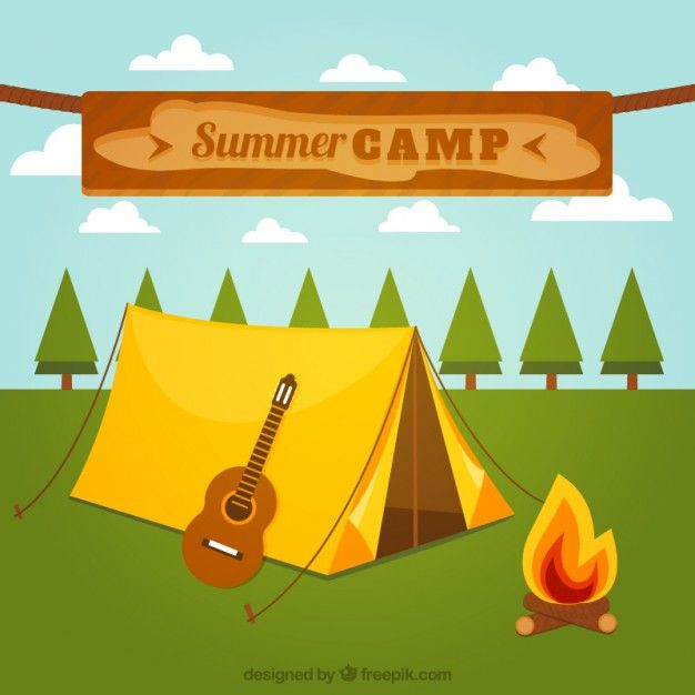 Free vector Summer camp #10433
