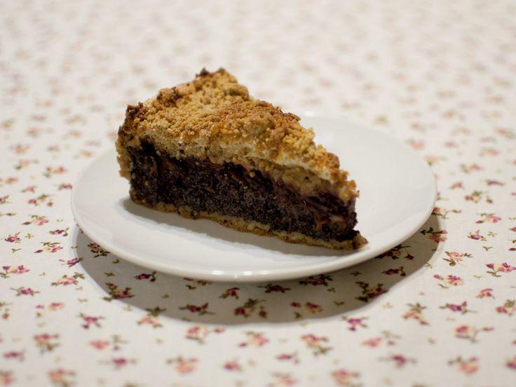 bezlepkový švestkovo-makový koláč