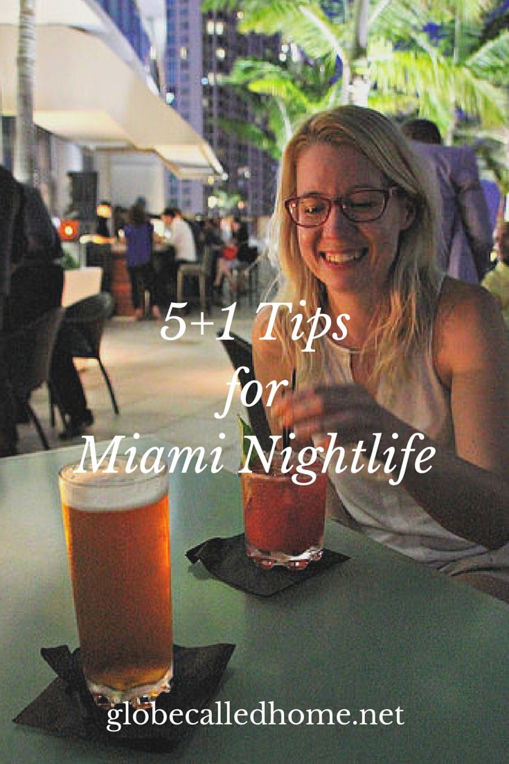 Tips for #Miami nightlife - best skyscraper bars, restaurants, and beach life! #travel #Florida
