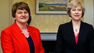 DUP-Tory deal close says Arlene Foster
