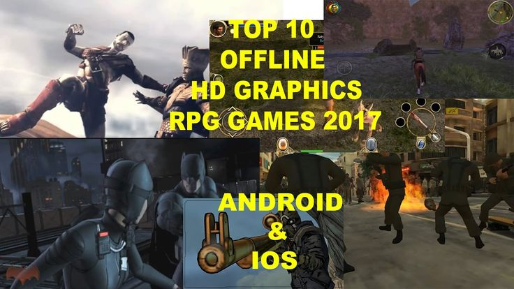 Top 10 Offline RPG Android & IOS  (Role Playing Games) HD Graphic GamesT...