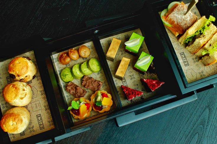 Afternoon Tea at Alila Solo served with a delicious assortment of Indonesian and Western treats