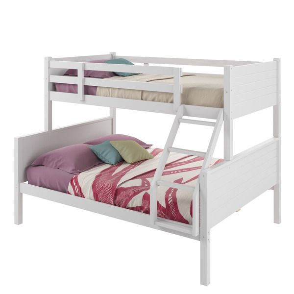 CorLiving Ashland Twin-over-Full Bunk Bed