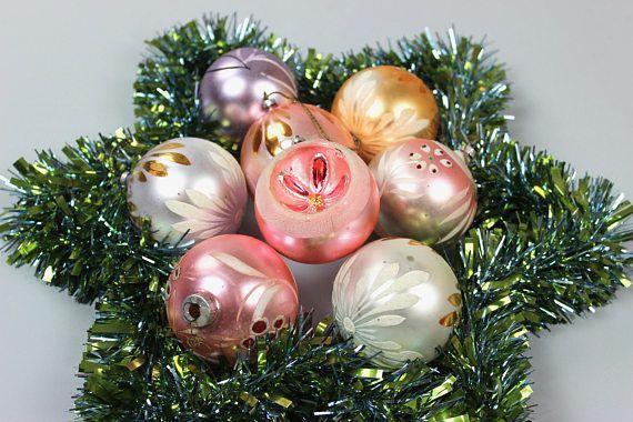 25 einzigartige weihnachtskugeln rosa ideen auf pinterest paperballs vintage - Weihnachtskugeln pastell ...