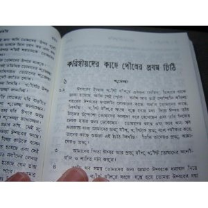 The New Testament in Common Bengali Language   $39.99