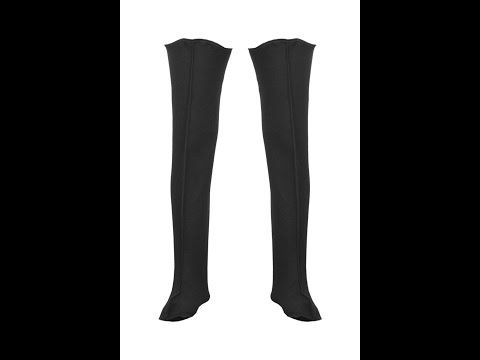 OCIEPLACZ DO WODERÓW Model: KL09/WR The warm socks are made with high quality felt material. These warm and lined thigh waders protect you and your feet against cold during fishing work and fishing leisure activities.
