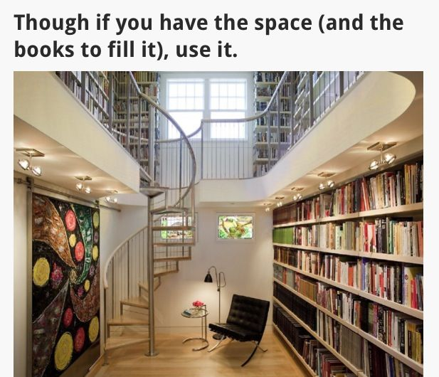 Staircase to book world