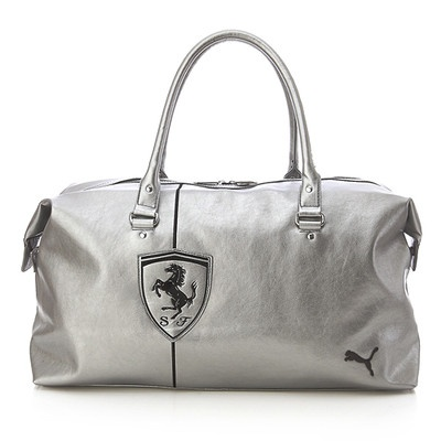Details about BN PUMA Ferrari LS Duffle <b>Travel PU</b> Leather Bag in ...