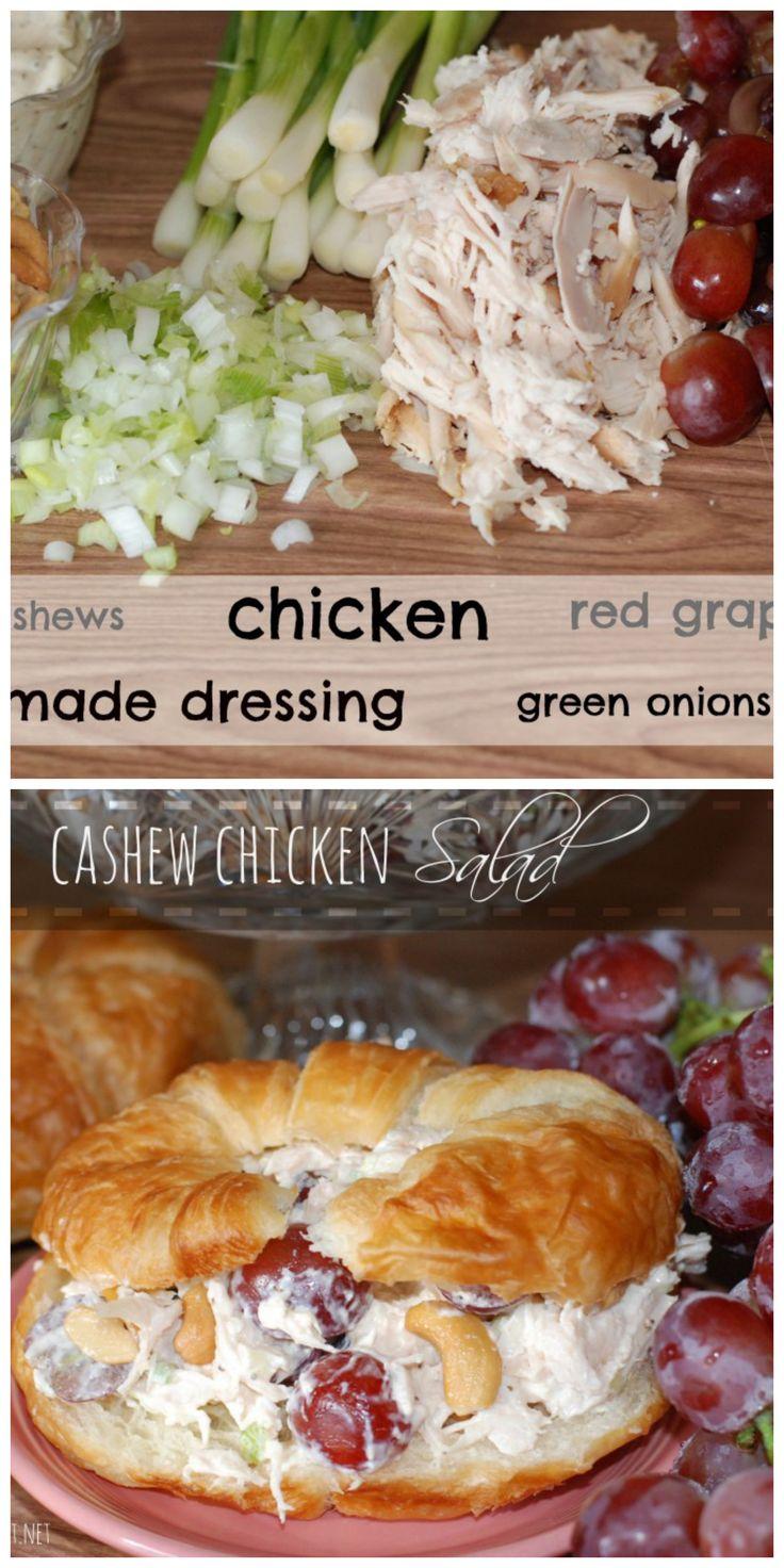 THEE best Cashew Chicken Salad. Period.