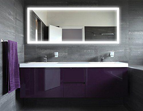 Die besten 25+ Spiegel mit led Ideen auf Pinterest Badspiegel - led beleuchtung badezimmer