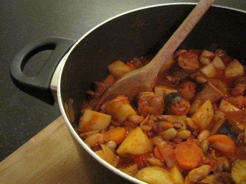 Smoky Sausage Pot