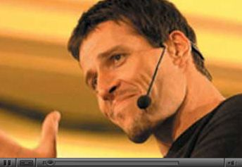 Tony Robbins is simply one of the most powerful speakers I've ever heard. He's clear and concise, uncompromising, yet compassionate. If you are interested in becoming a better student of life, of living fully, you'd be crazy to not spend time finding out what he has to say and what he's all about.