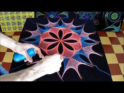 string art estelar by jorge de la tierra youtube. Black Bedroom Furniture Sets. Home Design Ideas