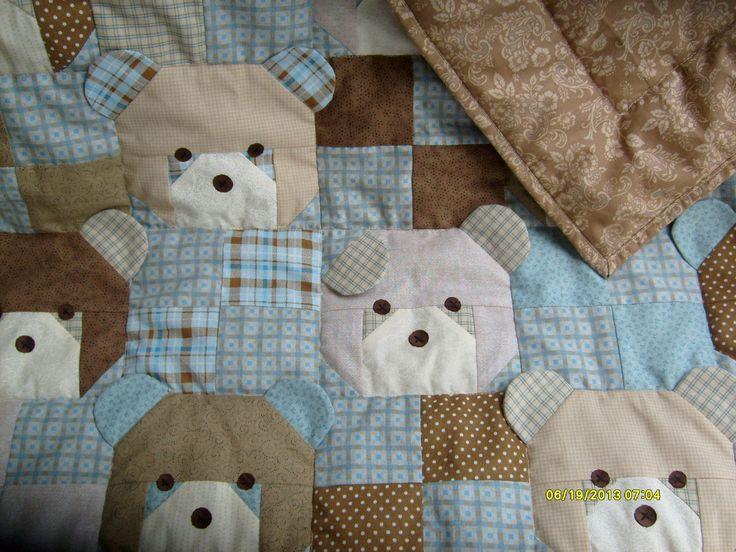 Bear quilt - June 2013