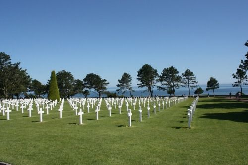 Omaha Beach, Normandy, France (Cote de Nacre)