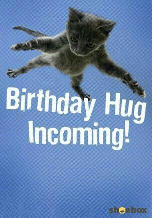 Abrazo de cumpleaños