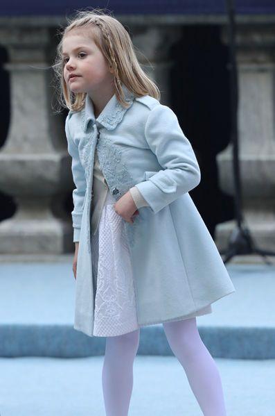 La petite princesse Estelle de Suède a fait son show