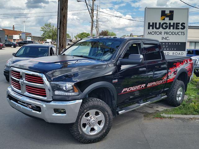 2014 RAM 2500 Power Wagon, 6.4L Hemi, Automatic. Other Features Included: Aluminum Wheels, All Power Options, A/C, ABS, Cloth Seats, 4WD and much more.