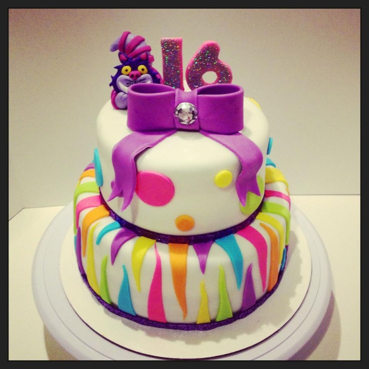 Children s Birthday Cakes - 16th birthday cake with a ...
