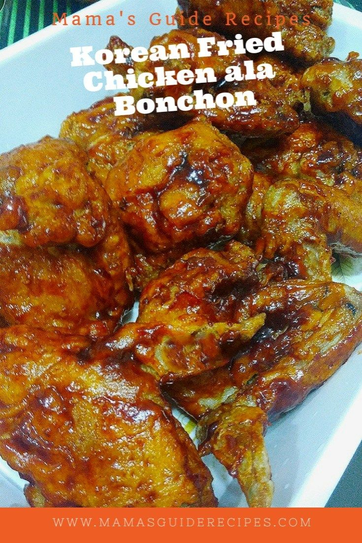 This Korean Fried Chicken ala Bonchon is so quick to cook