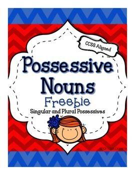 "Is it ""s-apostophe or apostrophe-s?? Possessive noun practice--2 cute FREEBIE pages!"