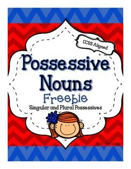 "Is it ""s-apostophe or apostrophe-s?? Possessive noun practice--2 cute FREEBIE pages!"